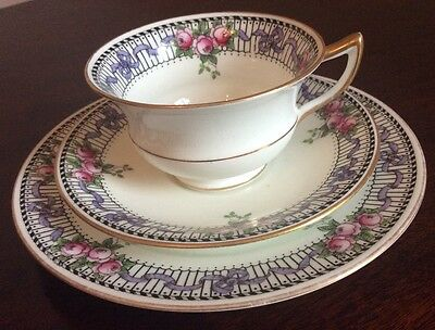 Vintage Plate, Cup and Saucer Aynsley China