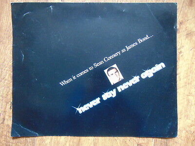 James Bond OO7 - Never Say Never Again - Advertising Poster