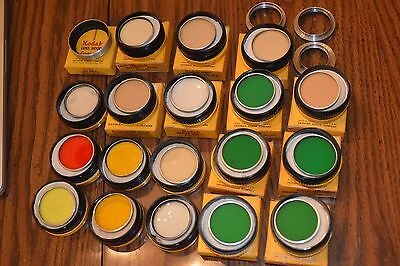 Huge lot of 22 Kodak Series VI Wratten Filters, Portra Lens, Adapters, Lens Hood