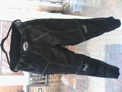 """RST textile motorcycle trousers 32-34"""" waist"""
