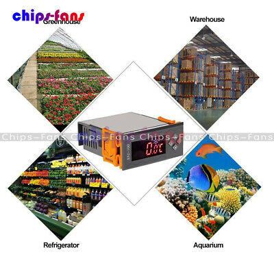 12V/24V/110V/220V STC-100/1000 Digital Temperature Controller Thermostat w/NTC C