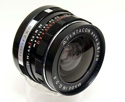 Pentacon 29Mm F2.8 M42 Screw Mount With Makers Box.