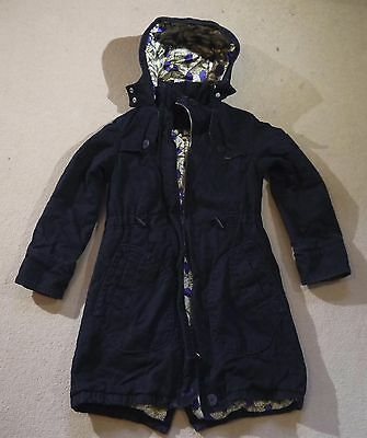 Girls Ted Baker winter over coat from Debenhams age 7-8 years