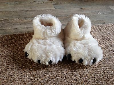 Slippers (children's Novelty, Unisex Infant Size 9 Wolf? From Next. ExCon)