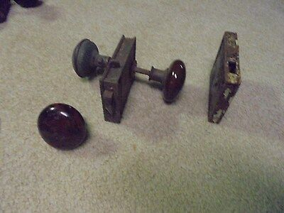 Vintage Mixed lot of knobs and external door locks