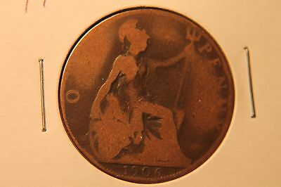 1906 Great Britain Large Penny