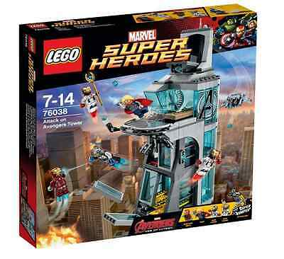 LEGO Superheroes 76038 Age of Ultron: Attack on Avengers Tower  BRAND NEW