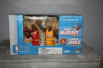 Lebron James Cleveland Cavaliers Tracy McGrady 2 pack McFarlane figure