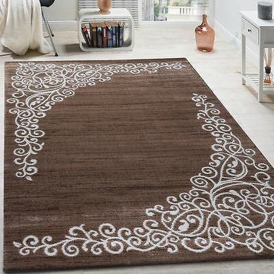 Small X Large Rug Modern Traditional Design Rug Brown Carpet Living Area Mats