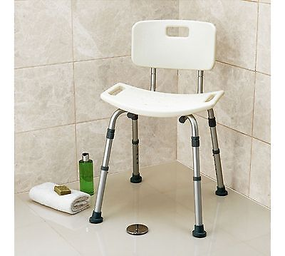 Drive Medical Bath and Shower Stool with Backrest