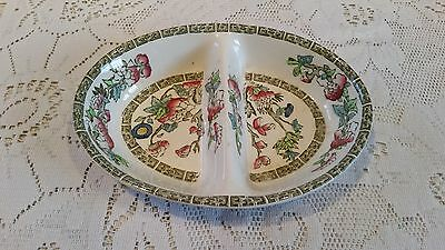 Johnson Brothers : Indian Tree Double Serving Dish
