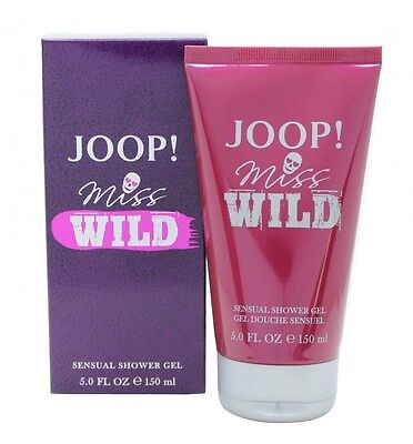 Joop! Miss Wild Shower Gel 150Ml - Women's For Her. New. Free Shipping