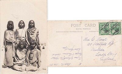 Egypt 191932 Native Egyptians from Luxsur to England.
