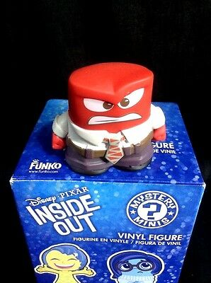 Inside Out Mystery Mini Anger Disney Pixar  Funko Figure Open Box Crying