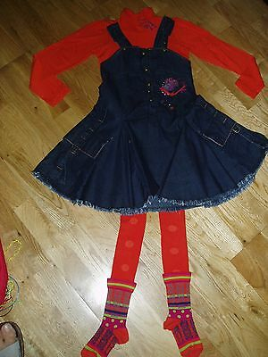 3 piece Girls designer MARESE dress set worn ONCE,  5 years cost over £90