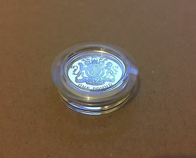 1983 Royal Mint Silver Proof £1 Coin .925 Silver