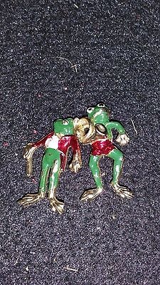 Pair of Frog Pins