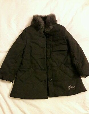 Girls DKNY winter coat age 4