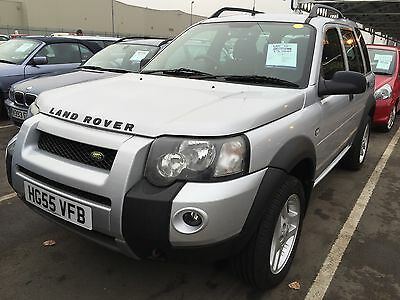 55 Land Rover Freelander Freestyle Td4 Auto , 1/2 Leather,aircon,h/seats History