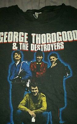 Deadstock Vintage George Thorogood & The Destroyers T-Shirt L