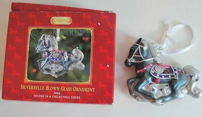 Breyer Ornament Silverbelle Blown Glass Horse Collectible Series 2008 Retired
