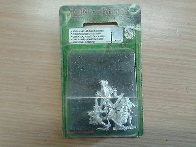 LOTR Lord Of The Rings MORIA ARMOURED GOBLIN BOWMEN metal OOP sealed