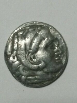 Silver drachm of Philip III, brother of Alexander the Great