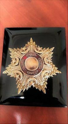 *** GREAT DISCOUNT*** TURKEY OTTOMAN REPRODUCTION ORDER of MEDJIDIE BREAST STAR
