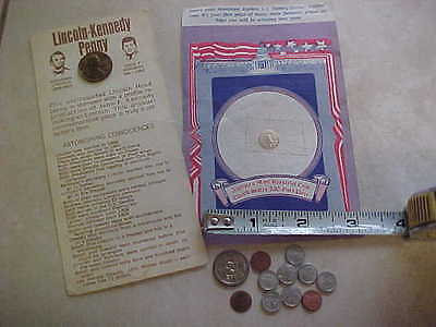 Novelty Us coins, miniatures, repleca Twenty Dollar Golden Coin, Lincion-Kennedy