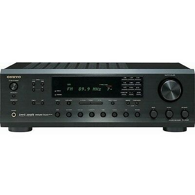 ONKYO TX-8555 200 Watt Stereo Receiver, Subwoofer Out, Sirius XM -Very Nice!!