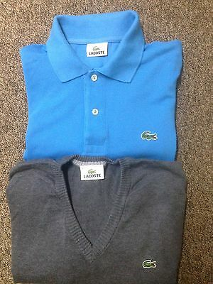 Lacoste Polo And Jumper