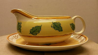 Royal Stafford ,Daisy Gravy Boat and Stand.