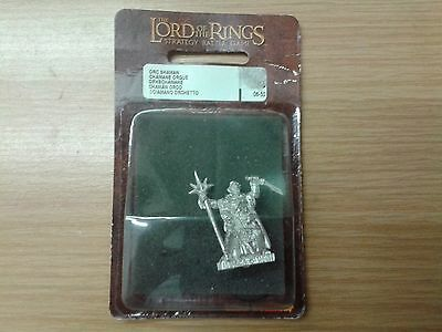 LOTR Lord Of The Ring ORC SHAMAN metal OOP sealed