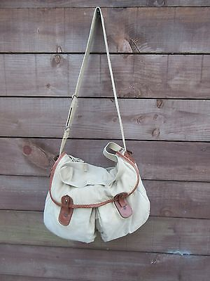 Brady vintage fishing bag for traditional angling, cycling or walking
