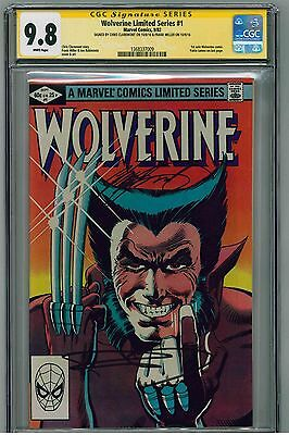 Wolverine Limited Series #1 (1982) CGC 9.8 SS - Signed by Miller / Claremont