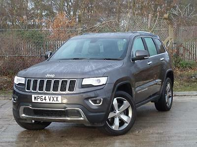 Jeep Grand Cherokee 3.0 Crd Limited Plus 5Dr Auto - Gre