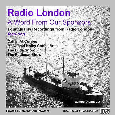 Pirate Radio - Radio London BIG L 'A Word From Our Sponsors' Volume 1 (Audio CD)