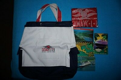 Disney Cruise Line Castaway Club Canvas Tote and Beach Backpack – New