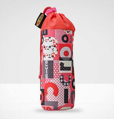 Bottle Holder - Micro Word Coral Pink