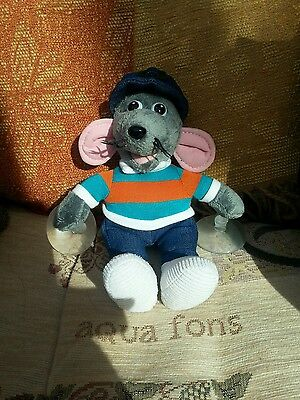 Roland rat soft toy small