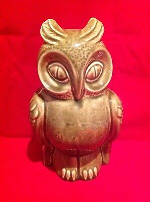 FREE DELIVERY! Vintage Dartmouth Pottery Owl Moneybox