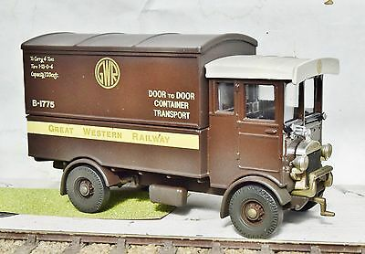 O Gauge Gwr Aec Express Parcels Lorry  Weathered