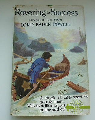 Rovering to Success. Revised Ed. Lord Baden Powell 17th edition