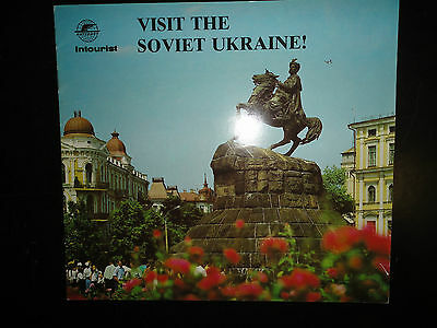 1970's Guide to Soviet Ukraine, published by Soviet Union Travel Office