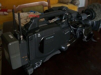 SONY PDW-F335 XDCAM HD Cinealta professional camera with accesories