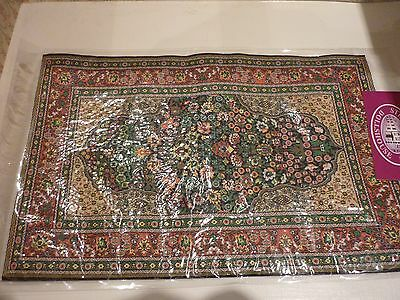 Streets Ahead Dolls House Green Turkish Carpet 12Th Scale New