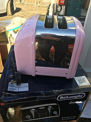 Dualit Pink 2 Slice Toaster Used In Good Condition