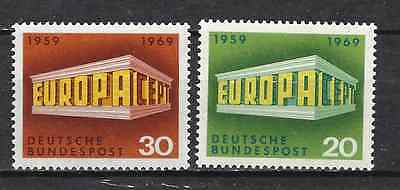 GERMANY - EUROPA CEPT 1969 - Stamps unused MNH**