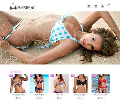 Dropshipping Bikini eCommerce Website Business Ready to Go with HUGE Potential