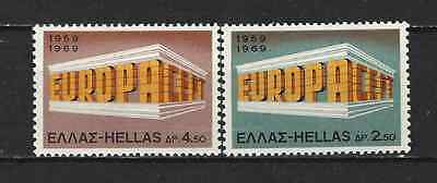 GREECE - EUROPA CEPT 1969 - Stamps unused MNH**